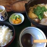 ちゃんこ 萩乃井 - 料理写真:ちゃんこ鍋、お刺身抜き