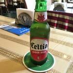 クスクス - チュニジアビール セルティア(550円)
