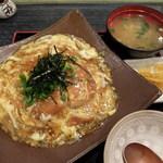 浜亭 - あんかけカツ丼