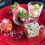 Rozetta - 【Lunch B】の前菜盛り