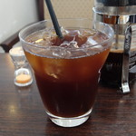 元町珈琲 愛知蒲郡の離れ - 珈琲プレス アイスコーヒー