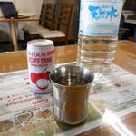 ハラールフードマルハバ - お店は天然水⤴︎