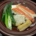 すっぽん鍋 鱧料理 三栄 - カニ旬菜御膳7560円