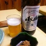 若鰤 - 瓶ビール(大) 600円