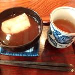 茶亭 椿 - ぜんざい(餅入り)
