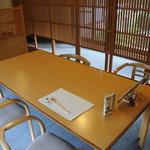 山志田 - テーブル席お一人様用?