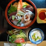 寿司の大将 - 日替わり生チラシ