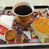マクドナルド - 料理写真:エッグマックマフィンセット 450円