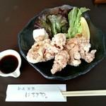 59070733 - 若鶏の唐揚げ香味だれ(600円)