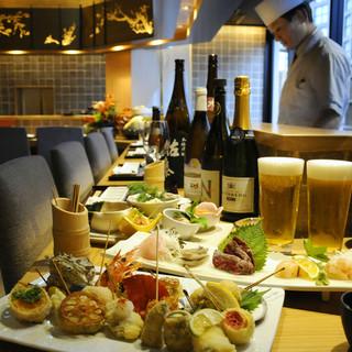日本酒の利酒師もおります