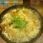 バガボンド丸 - 塩担々麺(ラーメンパスポート限定メニュー)