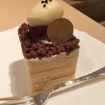 59071854 - 川越いもと洋梨のケーキ
