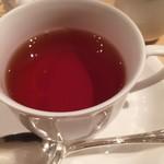 むすびcafé - 紅茶はポットで提供