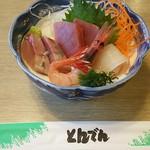 和食レストランとんでん - 刺身盛り