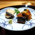 豪龍久保 - 宍道湖天然鰻 白焼き&蒲焼