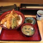 天丼専門店 てんき - 天丼(大盛り)  500円