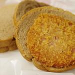 つるやパン - サンドウィッチ(ハムカツチョコ)