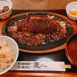 とんかつ藤よし - 熟成ロース鉄板味噌かつ膳