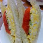サンドイッチ工房 victory cafe - ヘルシーエッグサンド