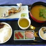 比良暮雪 - 料理写真:比良暮雪(鮎家の郷)@琵琶湖 びわ湖セット