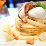 59079184 - 洋梨のパンケーキ