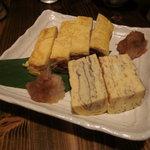 彩菜BAR Q's - 玉子焼き