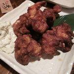 彩菜BAR Q's - 鶏の唐揚げ