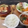 のうえんカフェ - 料理写真:ロールキャベツグラタンセット(16-11)