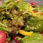 鳥元 - 千葉県富里産採れたて野菜と鶏ハムサラダ