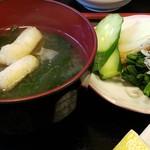 まんじ - お味噌汁おしい 2016.11