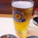 鳥春 - 生ビール大