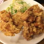 南海飯店 - 鶏唐揚げ☆まずまず量あるし 悪く無いね