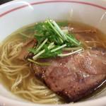麺坊ひかり - 柳麺 塩☆。.:*・゜