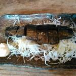 蕎麦工房 まつ田 - ニシン生野菜