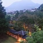 ゆふいん湯めぐりホテル 山光園 - 部屋から見える光景、由布岳がすごく映えますね