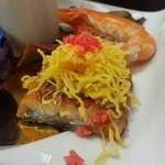 ゆふいん湯めぐりホテル 山光園 - 前菜の「鰻の蒲焼き」