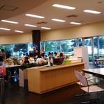 JAXA食堂 - 店内 普通の食堂です。