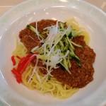 JAXA食堂 - 冷やしジャージャー麺 450円