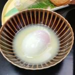ゆふいん湯めぐりホテル 山光園 - 朝食の温泉卵