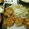 鶏味座 - 料理写真:地鶏の竜田揚げとろろご飯 税込980円