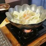 ゆふいん湯めぐりホテル 山光園 - 朝食の「だご汁」♪ 大分の郷土料理が食べれる朝食です