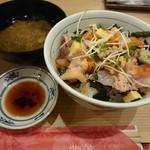 目利きの銀次 - ばらチラシ丼 ランチ お味噌汁付き  820円税込
