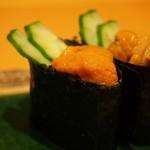 縄寿司 - 雲丹