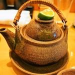 縄寿司 - 松茸土瓶蒸し
