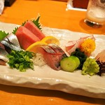 縄寿司 - お造り盛り合わせ