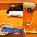縄寿司 - 生ビール