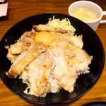 the 肉丼の店 - チキンステーキ丼(並¥780)