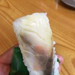 ○木 中華そば - さば寿司¥110円あっぷ〜(^。、^)/
