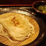 赤坂麺通団 - ざる 小
