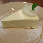 オガワカフェ - 料理写真:レアチーズケーキ